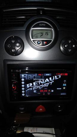 Radio Pioneer AVH 1600 DVD (como novo)