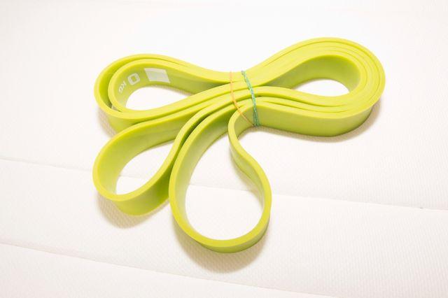 guma do ćwiczeń zielona