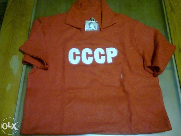 Camisola única C.C.C.P. Russia anos 50 em malha de lã