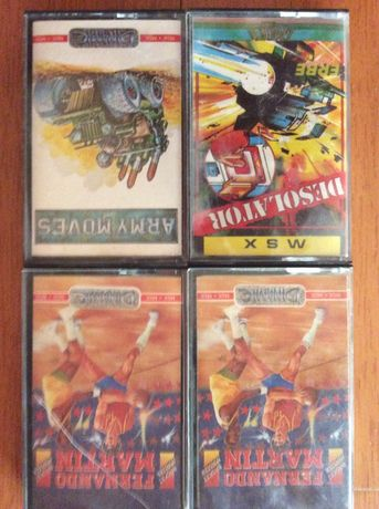 Cassetes jogos MSX