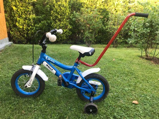 Rower Martes Wally rowerek dla dzieci 12 cali niebieski