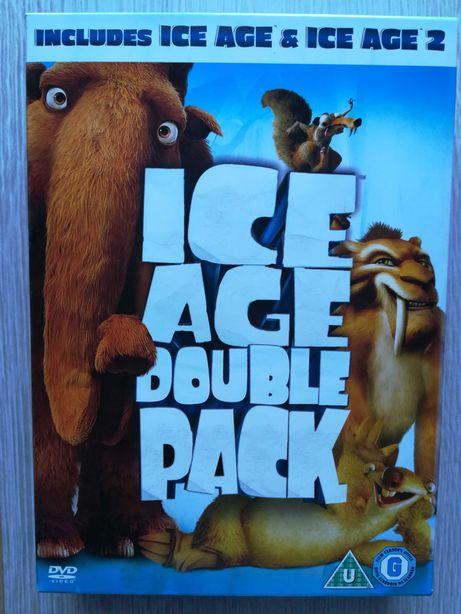 Ice Age Epoka Lodowcowa 2 filmy na DVD