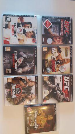 Gry PS3! MMA i boks