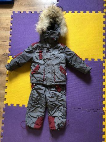 Зимний костюм , комбинезон, комплект теплый, штаны куртка