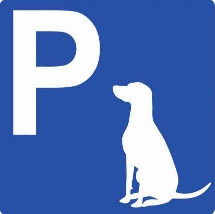 Парковка для собак (Кріплення для тимчасового тримання тварин)
