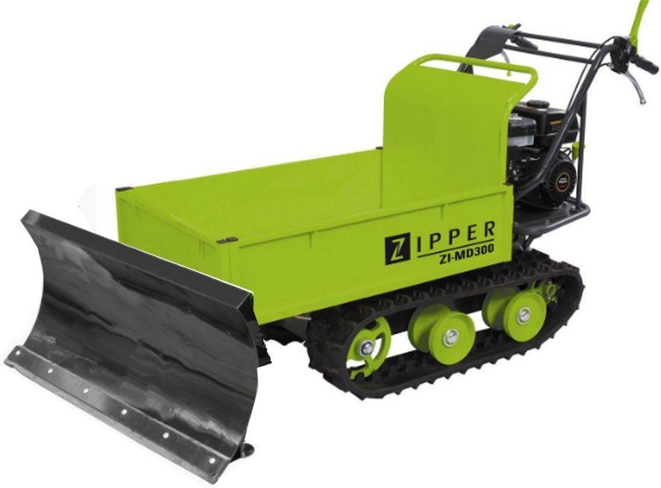 Dumper todo-terreno de lagartas c/ pá motor a gasolina 196 cm3 300kg