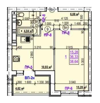 Продам 1 комнатную квартиру ул. Валентиновская  Len. S1
