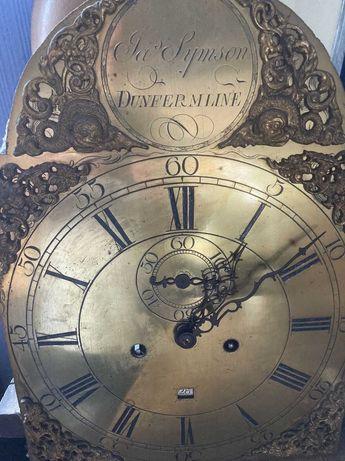 Zegar stojący z II poł. XVIII w.