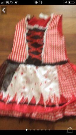 Sukienka przebranie Alicja w krainie czarów Jaś i Małgosia