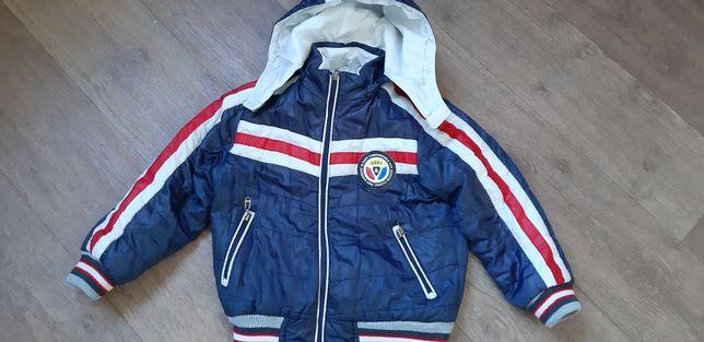 Куртка осенняя на мальчика до 116см