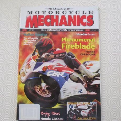 Honda CBR 900 RR, Honda CBX 550, Yamaha TZ350 e +