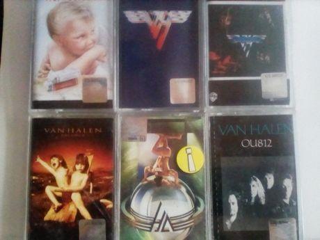Van Halen kasety magnetofonowe 6 szt