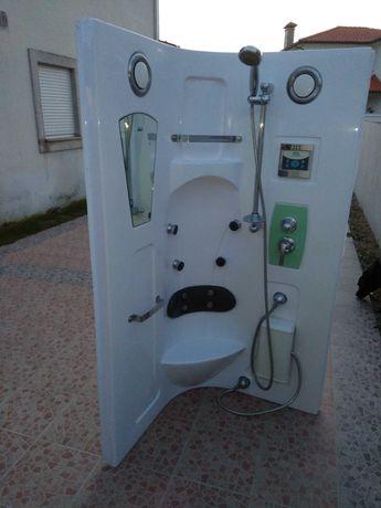 Vendo esta cabine de duche com rádio completa - aceito a melhor oferta