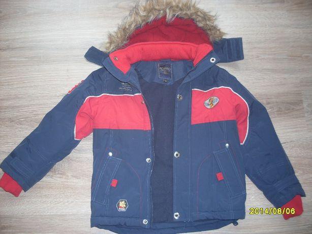 Kurtka zimowa dla chłopca r.104