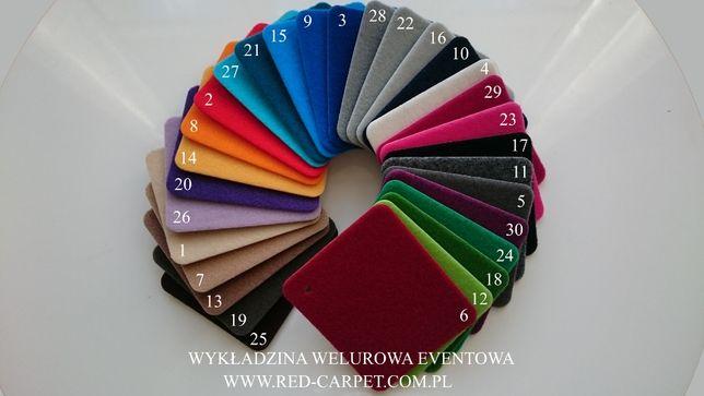 Wykładzina Welur dywan nowa różne długości