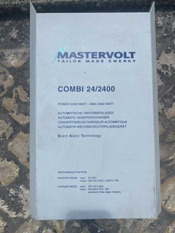 inversor/carregador 24V 2400W