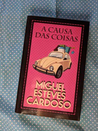 Livro - A Causa das Coisas - Miguel Esteves Cardoso