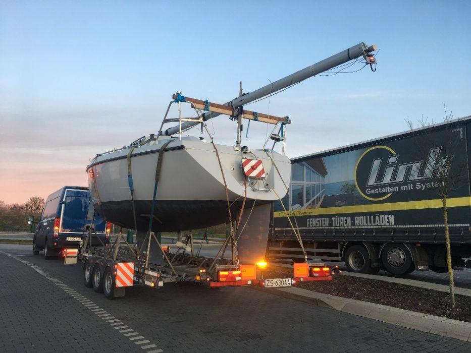 Transport jachtów łodzi, ponad gabarytowych. Szczecin - image 1