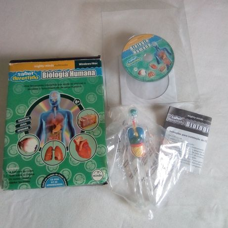 CD ROM sobre o corpo humano 6€