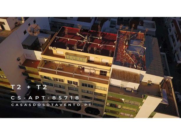 T4 com 3 terraços vista Rio no centro de VRSA