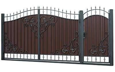 Изготовляем Ворота, Решетки и т.д
