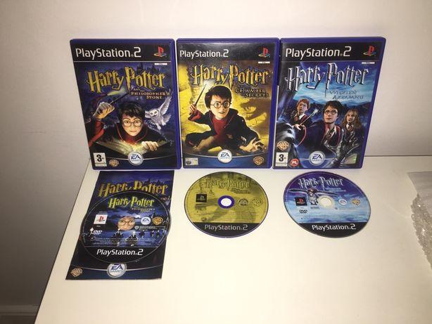 Harry Potter Gra / Gry PS2 PlayStation 2 KOLEKCJA Odbior/Wysylka