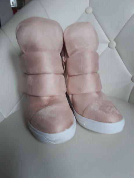 Okazja raz założone buty sneakersy botki kozaki Rozm 37