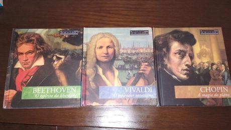 3 CDs de música clássica