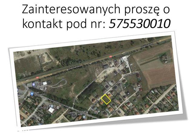 działka budowlana Trzemeszno ul.Modrzewiowa