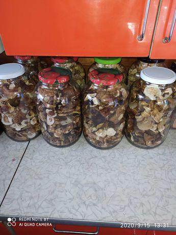 Сушені білі гриби( сушеные белые грибы) Маринование грибы.