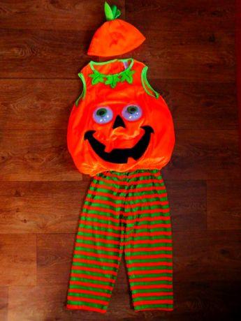 костюм тыква 3-4 года 104 рост хэллоуин