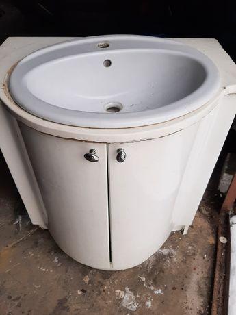 Umywalka szafka komplet