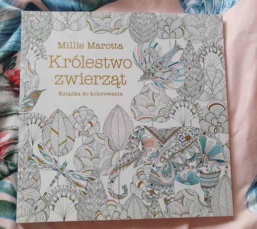 Kolorowanka Królestwo zwierząt Millie Marotta
