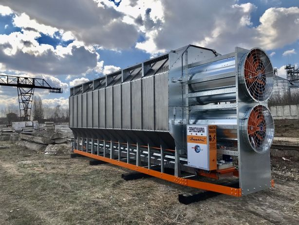 Зерносушилка Сапфир 2-150 тон в час Строим ЗАВы Ангары Силоса