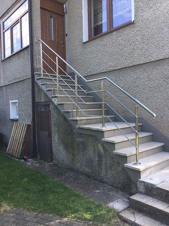 schody balustrady ogrodzenia i inne...