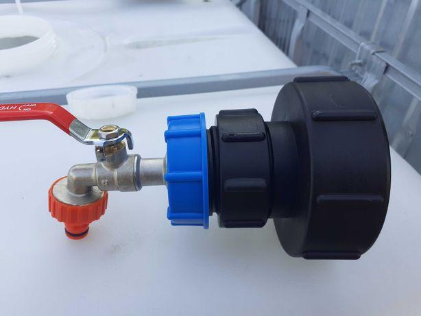 Redukcja adapter zbiornik 1000 MAUZER IBC100x8GZ 2   3 cale