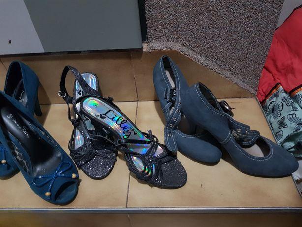 Trójpak buty 37-38rozm