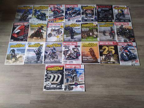 Zestaw Motocykl czasopisma świetny stan do serwisu warsztatu