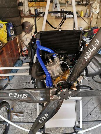 Silnik Thor 250 że śmigłem rozruch elektryczny ppg ppgg