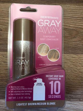 Gray Away Everpro spray przeciw siwym wlosom, idealny na odrosty