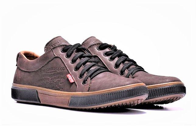 """Спортивные туфли """"Levis"""" Мужские кожаные. Три модели 40-45рр"""