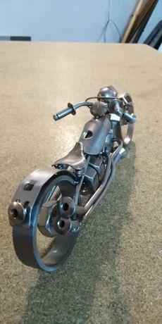 Figurka ze stali nierdzewnej motor