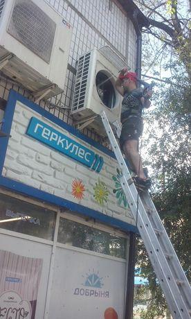 кондиционеры ,установка, сервис, дозаправка фреоном, демонтаж, ремонт