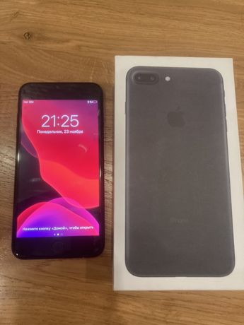 Iphone 7 plus 32 gb neverlock black