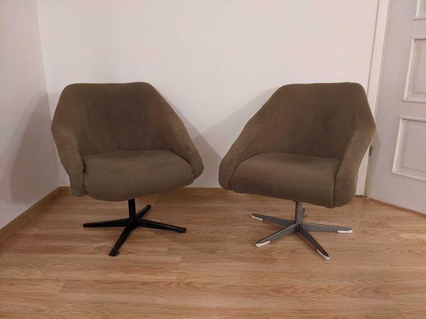 Fotele PRL Ewa, dwie sztuki, vintage