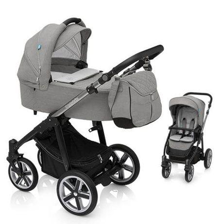 Wózek Lupo Comfort - pełen zestaw z gondolą i dodatkami