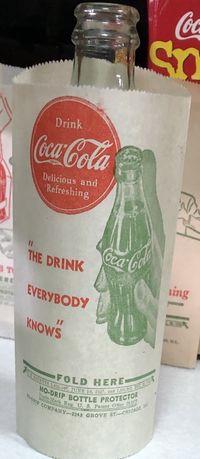 Proteçao garrafa. Coca cola. USA