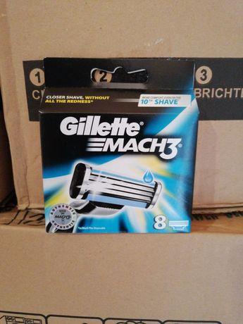 Кассеты для бритья Gillette fusion, Mach 3 Оригинальные 100%