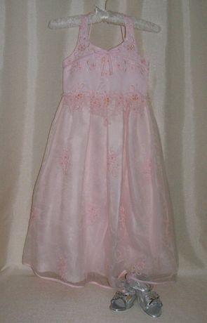 Нарядное платье на выпускной рост от 110 до 134