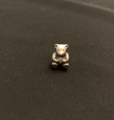 Charm Pandora srebrny Niedźwiedź